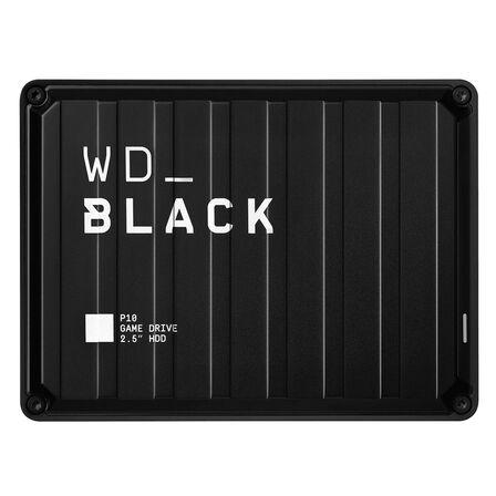 WESTERN DIGITAL - WD Black P10 Game Drive 4TB Black External Hard Drive