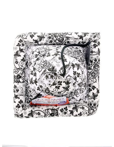 HOGWILD TOYS - Peeramid Bookrest Black Floral