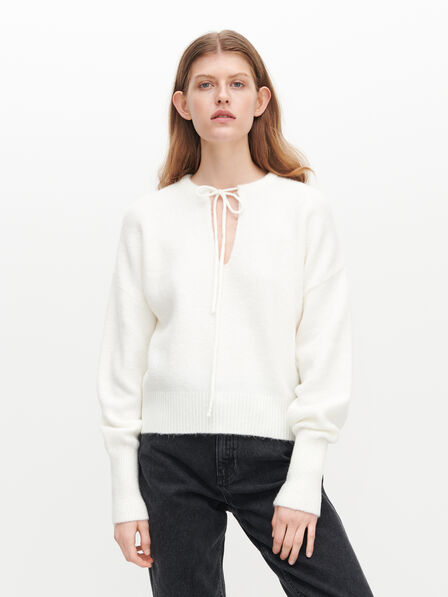 Reserved - Ladies' Sweater - Ivory