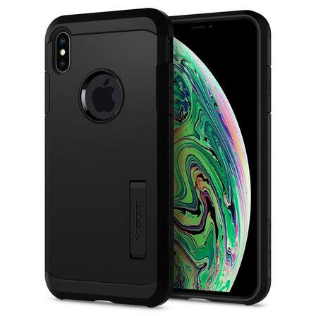 SPIGEN - Spigen Tough Armor Black Case for iPhone XS Max