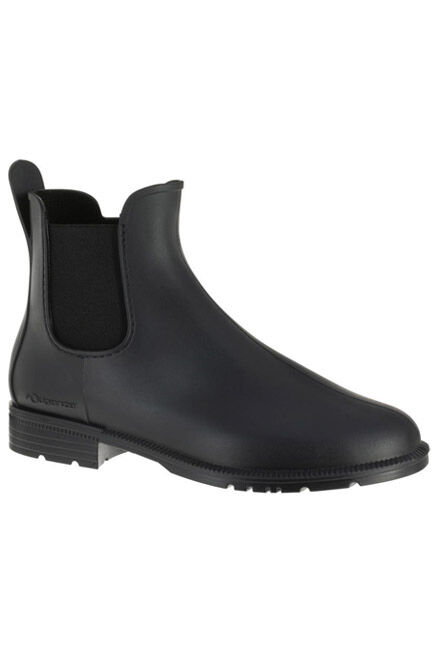 FOUGANZA - Schooling Adult/Kids' Horse Riding Jodhpur Boots - Black, EU 44