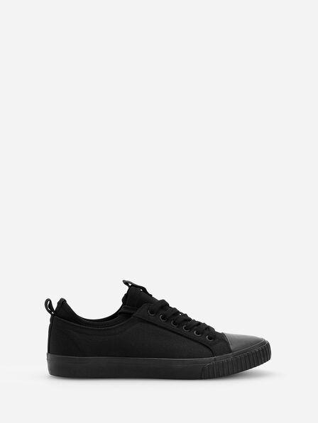 Reserved - Black Classic Sneakers, Men
