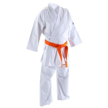 OUTSHOCK - 180 Cm Okayama 400 Karate Uniform - Snow White