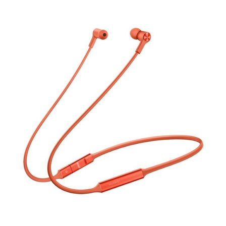HUAWEI - Huawei Freelace Orange In-Ear Earphones
