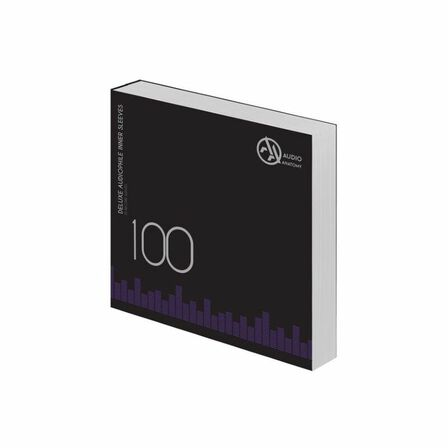 AUDIO ANATOMY - Audio Anatomy Audiophile Antistatic Deluxe Inner Sleeves White 100 x 12 Inch