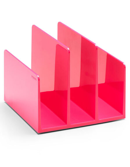 POPPIN INC - Poppin Inc Fin File Sorter Pink