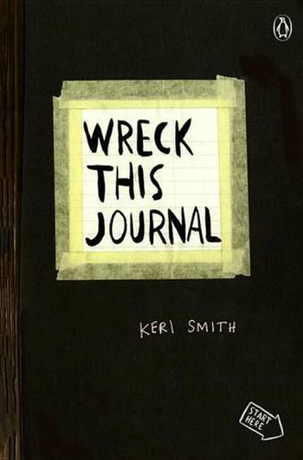 PERIGEE TRADE USA - Wreck This Journal Black
