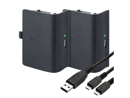 VENOM - Venom Twin Rechargeable Battery Packs for Xbox One