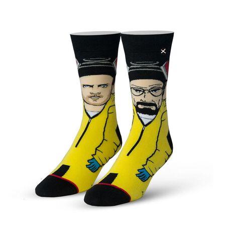 ODD SOX - Odd Sox Breaking Bad The Cooks 360 Knit Men's Socks [Size 6-13]