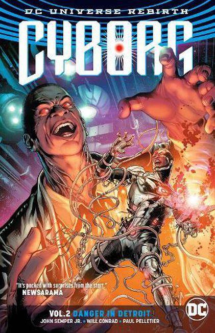 DC COMICS USA - Cyborg Volume 2