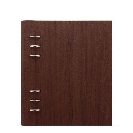 FILOFAX - Filofax Architexture A5 Clipbook Rosewood Notebook