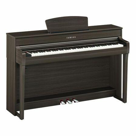 YAMAHA - Yamaha CLP-735 Digital Piano with Bench Rosewood