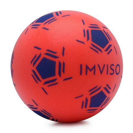 IMVISO - Unique Size  Futsal Foam Ball Size 3, Red