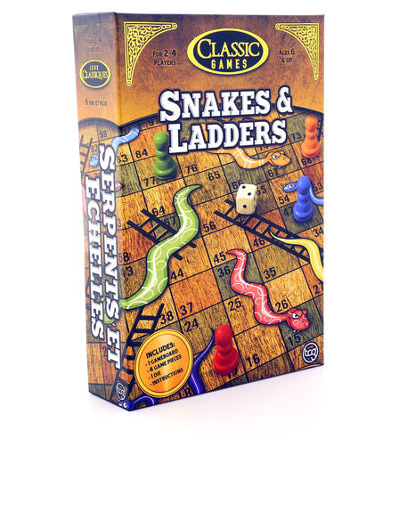 TCG - Snakes & Ladders Board Game