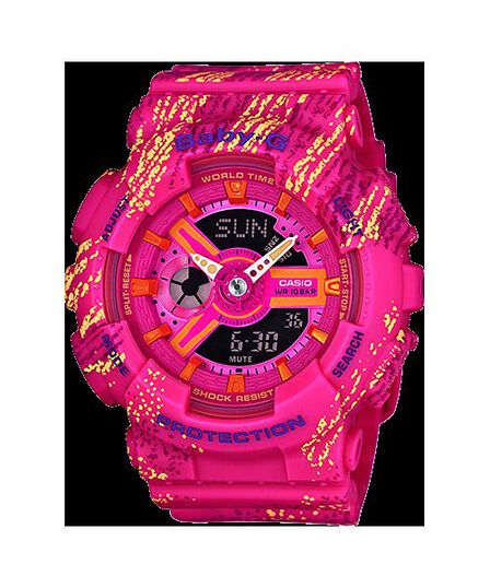 CASIO - Casio Ba-110Tx-4Adr Baby-G Digital Watch