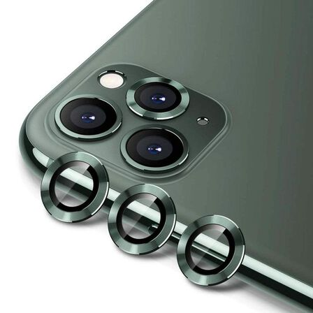 HYPHEN - Hyphen Camera Lens Protector Green for iPhone 11 Pro Max