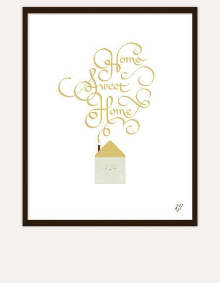 USTUDIO DESIGN LTD - Ustudio Home Sweet Home Screenprint