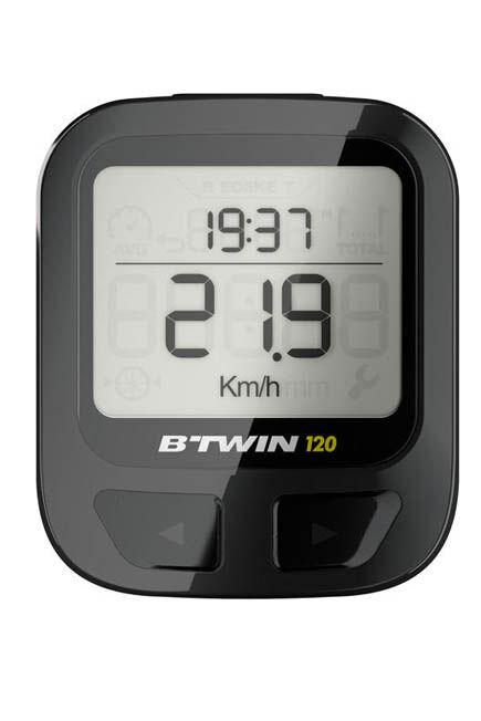 VAN RYSEL - 120 wireless cyclometer, Unique Size