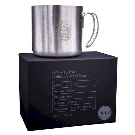 ROVATTI - Rovatti Pola Stainless Steel Mug Uae Silver 400ml