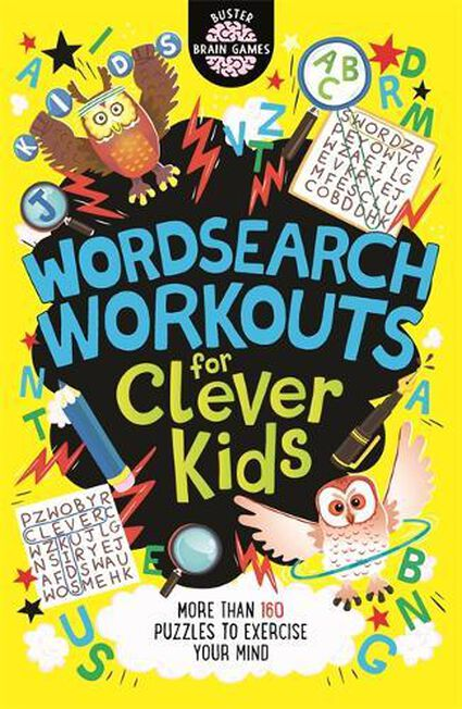 MICHAEL O'MARA - Wordsearch Workouts for Clever Kids