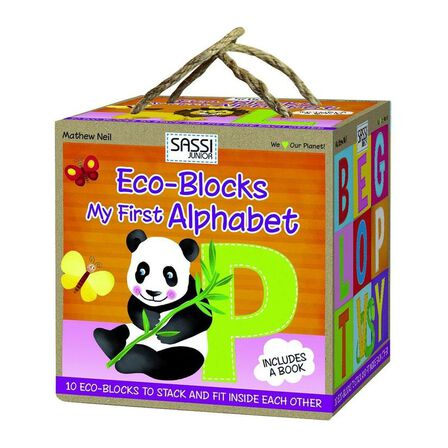 SASSI - My First Alphabet Eco-Blocks