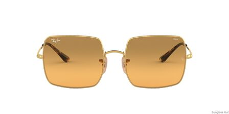 RAY-BAN - Gold Square Ray-Ban RB1971 SQUARE 1971 WASHED EVOLVE