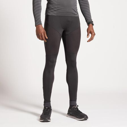 KIPRUN - W37 L34 Kiprun Men's Running Tights - Black
