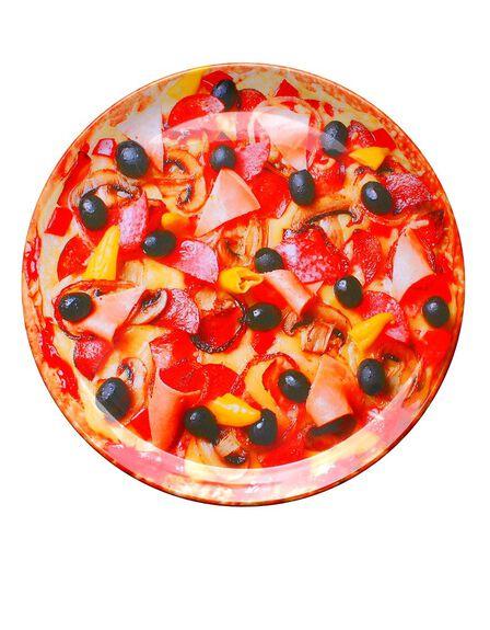 LA CHAISE LONGUE - Plat Pizza Party Et Roulette Party Pizza Plate/Red Cutter
