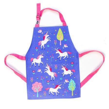 THREADBEAR DESIGN - Threadbear Design Lulu L'Unicorn Apron 3-6 Yrs