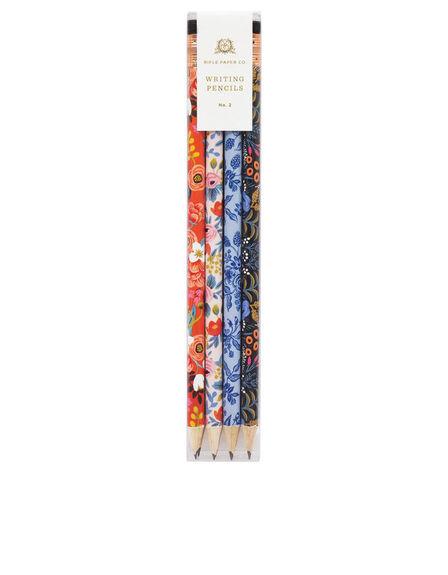 RIFLE PAPER CO. - Rifle Paper Co Floral Pencils [Set of 12]