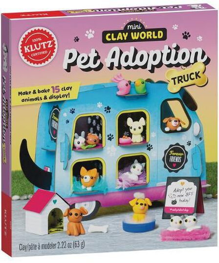 SCHOLASTIC USA - Mini Clay World Pet Adoption Truck