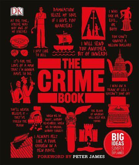 DORLING KINDERSLEY UK - The Crime Book Big Ideas Simply Explained