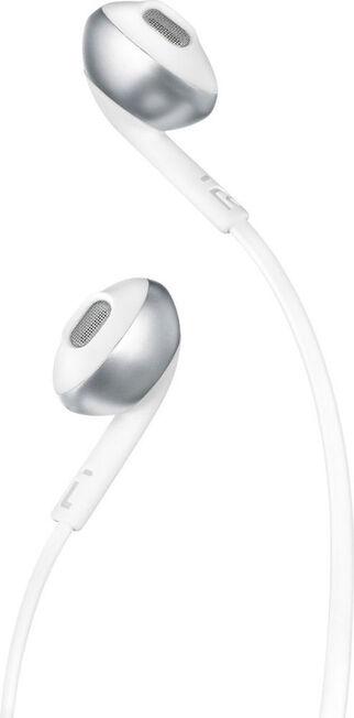 JBL - JBL T205 In-Ear Binaural Wired Earphones White