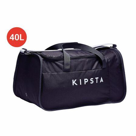 KIPSTA - 40L Kipocket Team Sports Bag - Dark - Carbon Grey