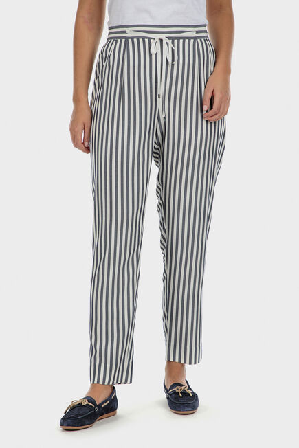 Punt Roma - Striped trousers