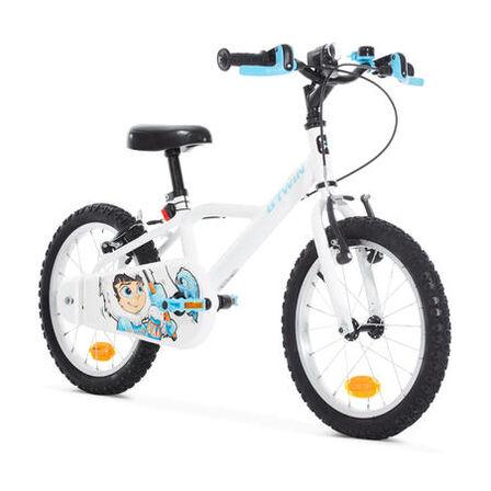B TWIN - 100 kids' 16-inch bike (4.5-6 years) - inuit