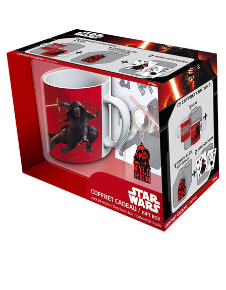 ABYSTYLE - Abystyle Star Wars Pack Kylo Ren [Mug + Keyring + Stickers]