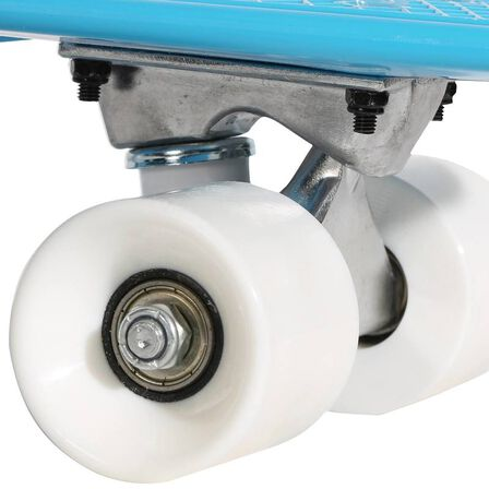 OXELO - Kids' mini plastic skateboard - blue