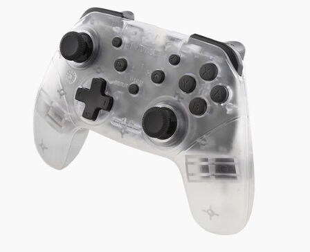 NYKO - Nyko Wireless Core Controller Clear for Nintendo Switch
