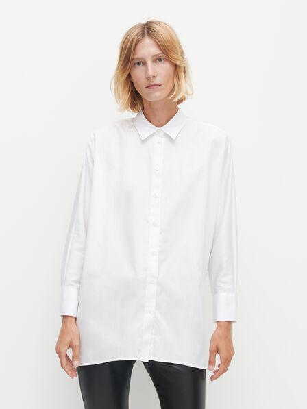 Reserved - Ladies' Oversize Shirt - White