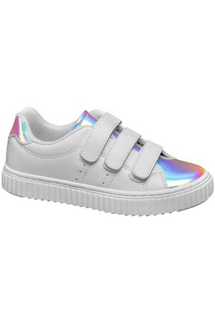 VNCE - White Sneakers, Kids Girl