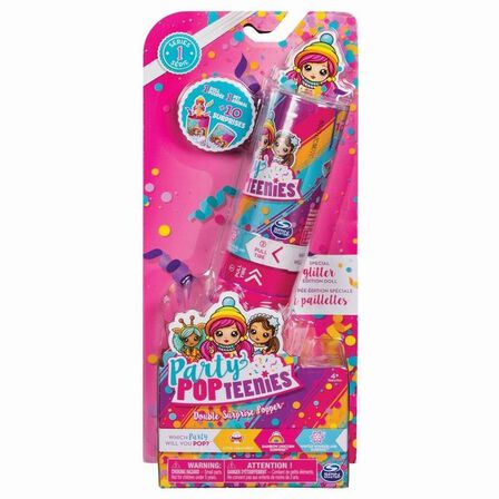 PARTY POP TEENIES - Party Popteenies Double Surprise Poppers Assorted
