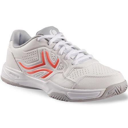 ARTENGO - EU 39  TS 190 Women's Tennis Shoes, Snow White