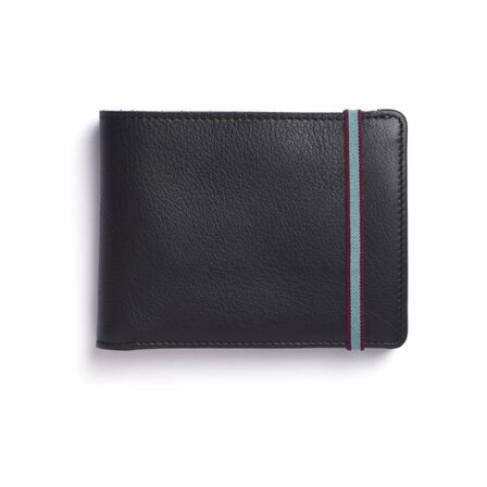 CARRE ROYAL - Carre Royal Portefeuille Porte-Carte Avec Monnaie Leather Wallet Black