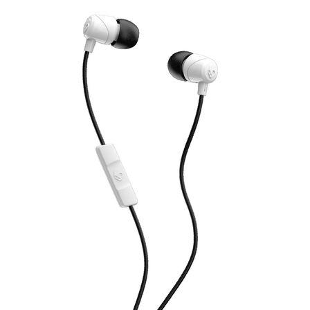 SKULLCANDY - Skullcandy Jib White/Black/White with Mic 1 In-Ear Earphones