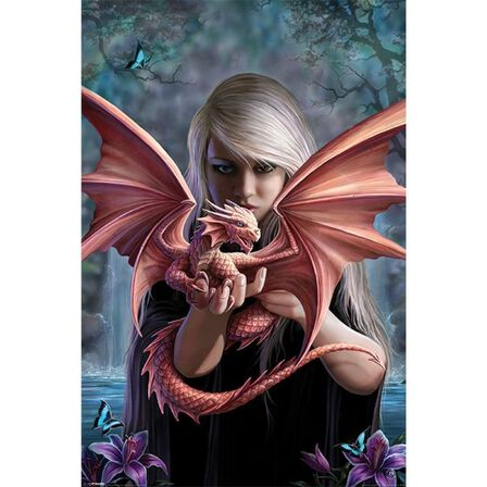 PYRAMID POSTERS - Anne Stokes Dragonkin Poster [61 x 91.5 cm]