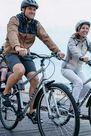 BTWIN - 500 city cycling helmet - black, L