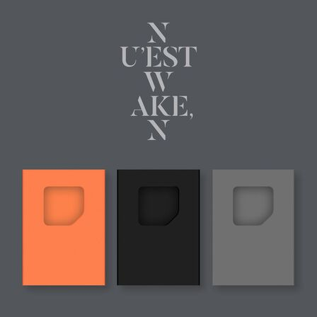 CJ E&M - Wake N Kihno Album   Nu'Est