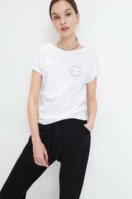 Mohito -  Eco Aware Cotton T-Shirt - White