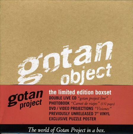 YA BASTA - Gotan Object The World Of Gotan In A Box +Vinyl Limited Edition Set Of 2 | Gotan Project